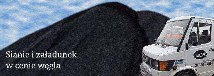 Skład Opału Więcek, Krzeszowice, Małopolska, polski węgiel, węgiel workowany, ekogroszek, retopal, drewno opałowe